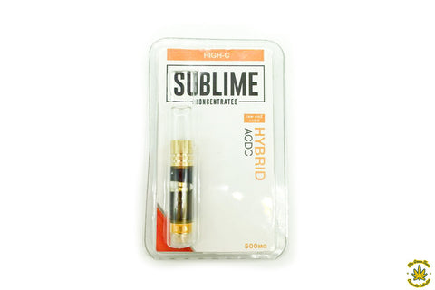 "Sublime Concentrates ""High-C"" Daytime CBD Cartridge"