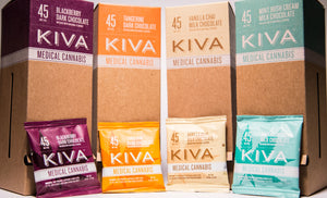 Kiva: Flavored Chocolate Squares (45mg THC)