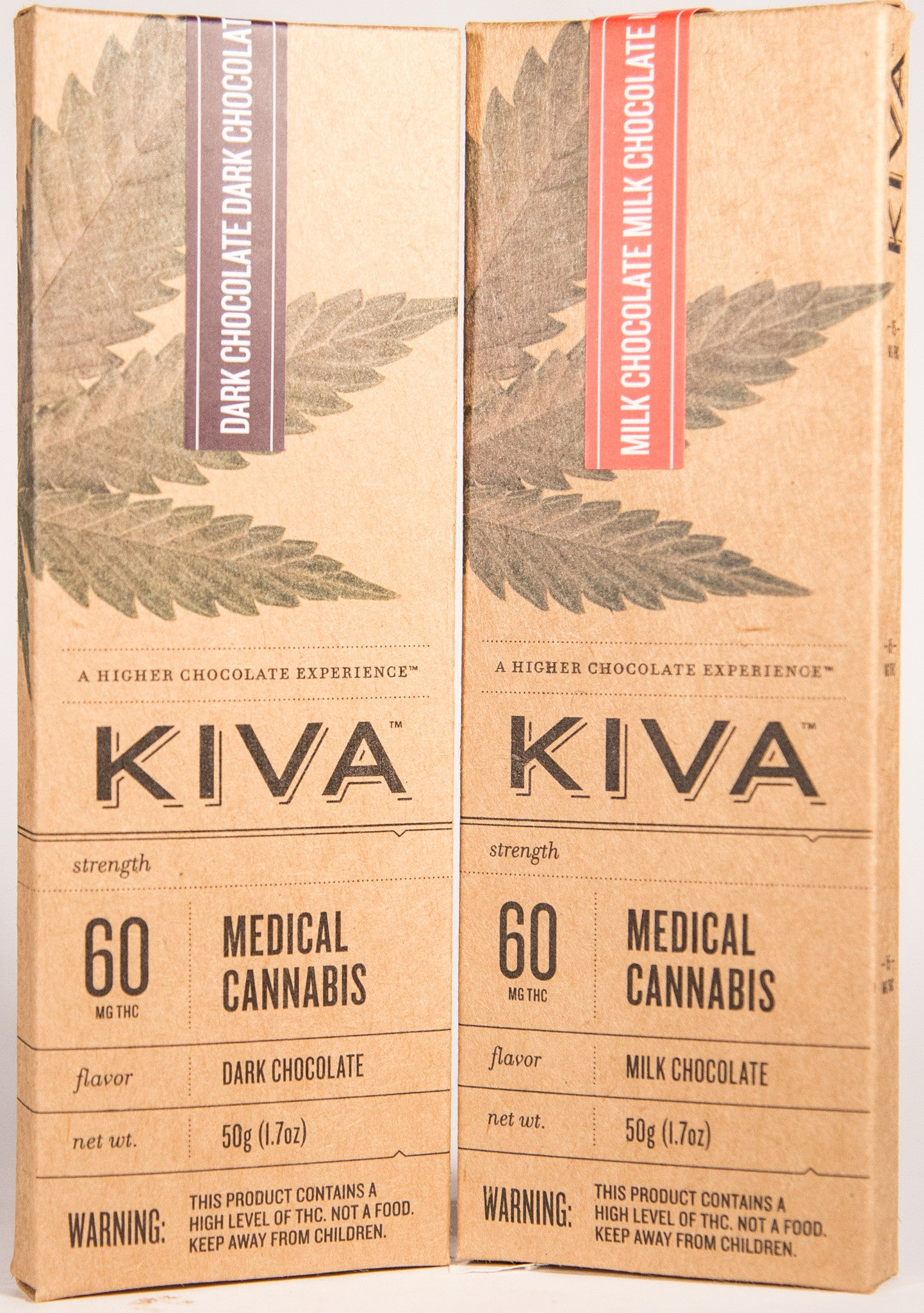 Kiva 60mg Dark Chocolate Bar – The Green Team Cannabis Collective