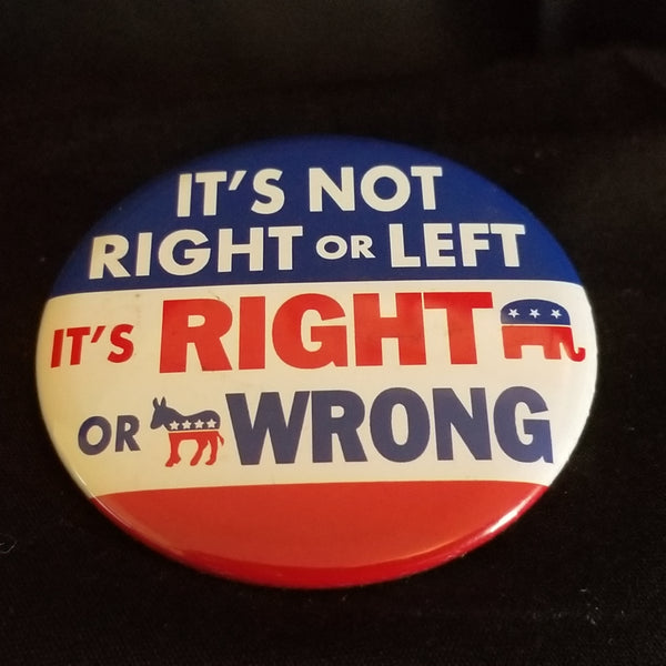 Right vs Wrong Button
