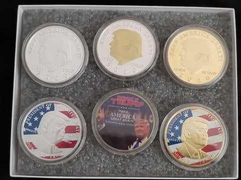 MAGA Limited Ed. Collectible Coin Set