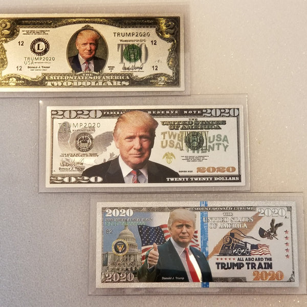 Trump 2020 Election Silver Bill Set