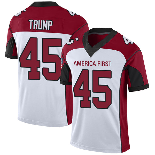 Trump 45 America First Football Jersey