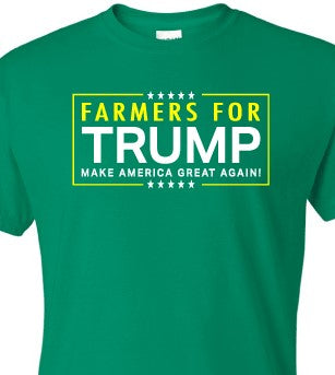 Green Farmers for Trump T-Shirt
