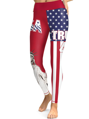 Trump 45 USA Leggings