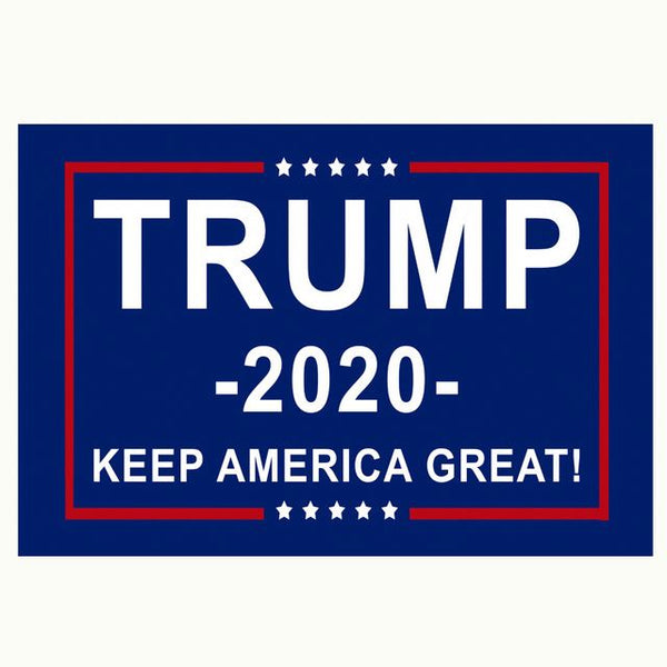 Blue Trump KAG 2020 Flag
