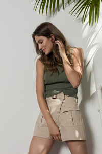 FALDA PANTALON  SAFARI