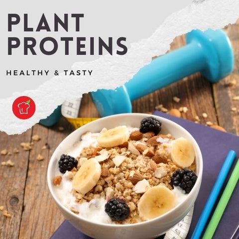 Plant Proteins are Healthy & Tasty