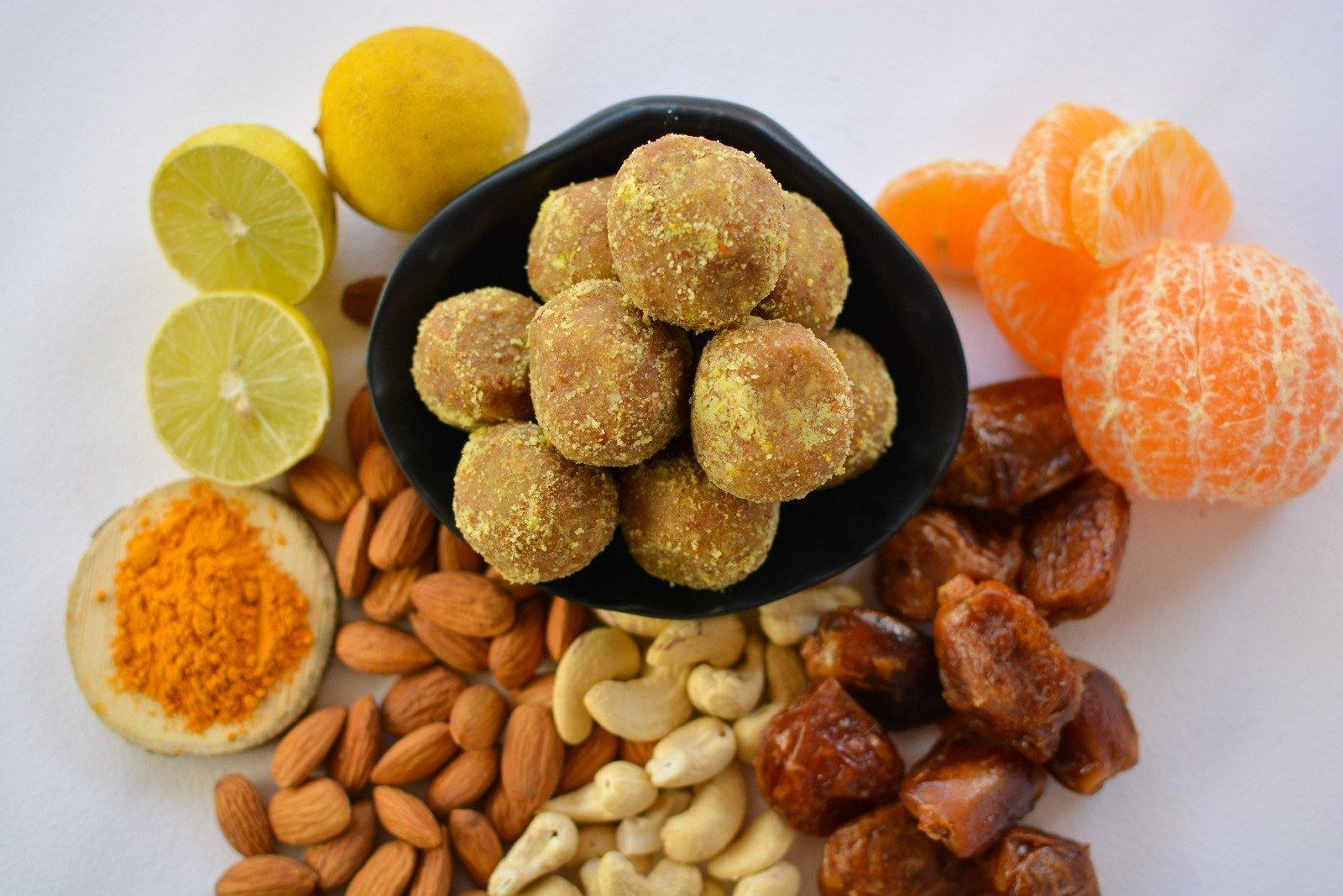 Citrus and Vanilla Truffles (200g) - SampoornaAhara.com