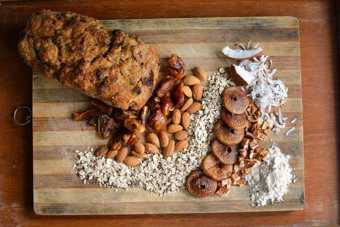 Muesli Loaf - with fruits and nuts - 600g - SampoornaAhara.com