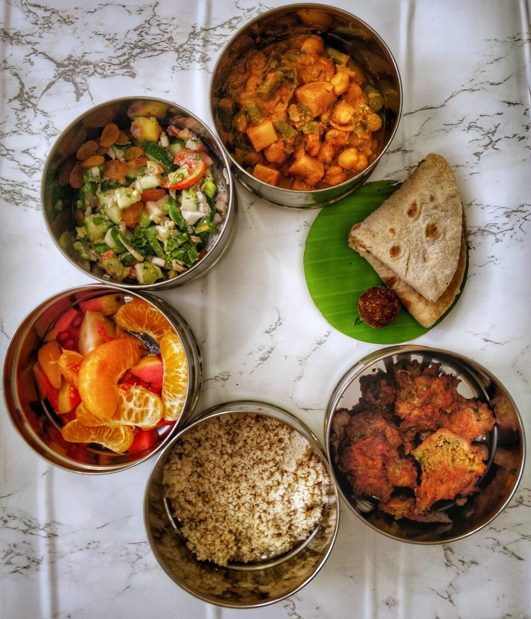 Plant-Based Wellness Meals - Starter Pack | Healthy Food | Vegan | Lunch & Dinner | Nutrition Balanced Diet | Restaurants Style | Weight Loss Diet | Whole Food Plant Based Meal - SampoornaAhara.com