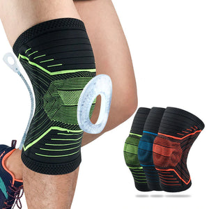 Supportive sports knee brace