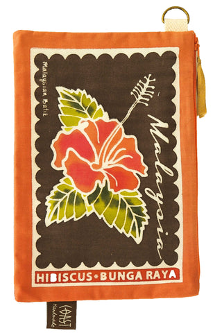 Pencil Case - Hibiscus