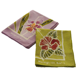 Handkerchief Set of 2 - Flower Series