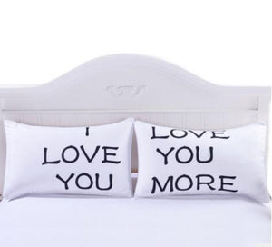 I Love You Decorative Pillow Cover