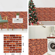 Load image into Gallery viewer, 3D Stone Self Adhesive Wall Stickers