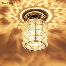 Carregar imagem no visualizador da galeria, Crystal Flush Mount Ceiling Light