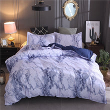 Load image into Gallery viewer, Marble Bedding Duvet Set