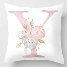 Load image into Gallery viewer, Alphabet Cushion Cover