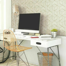 Laden Sie das Bild in den Galerie-Viewer, Hexagon  Wallpaper Self Adhesive