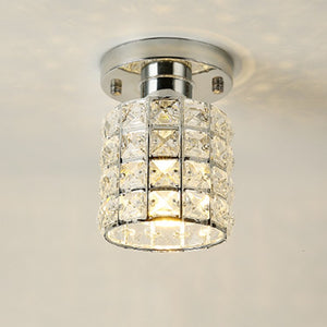 Crystal Flush Mount Ceiling Light