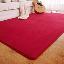 Load image into Gallery viewer, Memory Foam Solid Mat Area Carpet