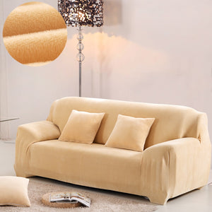 Thick Plush Sofa Cover