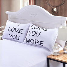 Laden Sie das Bild in den Galerie-Viewer, I Love You Decorative Pillow Cover