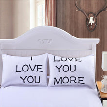 Load image into Gallery viewer, I Love You Decorative Pillow Cover