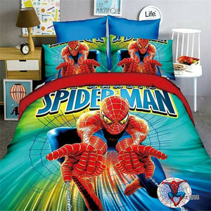 Spiderman Bedding Set