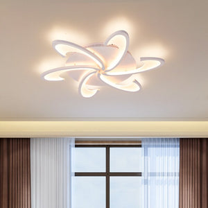 Modern Acrylic Led Chandelier Lamp