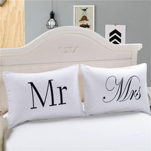 Load image into Gallery viewer, MR. and Mrs Beddin Pillowcase