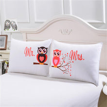 Laden Sie das Bild in den Galerie-Viewer, Cartoon Owl 3D Print Pillow Case