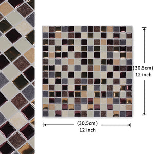 12 3D Vinyl Wallpaper  Mosaic