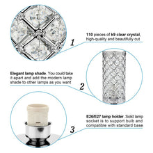Load image into Gallery viewer, Crystal Table Lamp