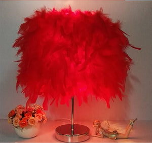 Modern Feathers Lamp