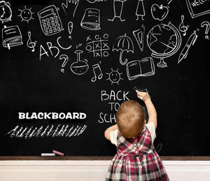 Chalk Board Blackboard Vinyl Wallpaper Self Adhesive