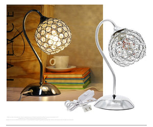 Modern Crystal Table Lamp