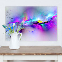 Laden Sie das Bild in den Galerie-Viewer, Abstract Unreal Pink Cloud Landscape Wall Art