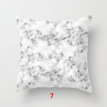 Carregar imagem no visualizador da galeria, Geometric  Marble  Pillow Case Cushion Cover