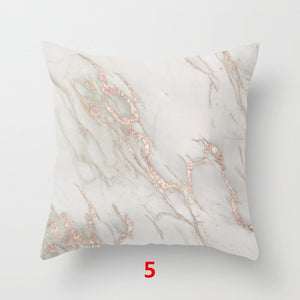 Geometric  Marble  Pillow Case Cushion Cover
