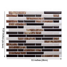 Load image into Gallery viewer, Mosaic Self Adhesive Tile 12 Pcs Lot