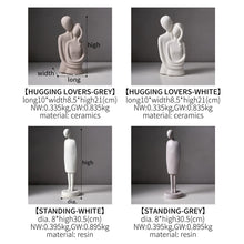 Load image into Gallery viewer, Nordic Abstract Love Statue