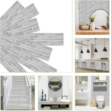 Load image into Gallery viewer, Brick Pattern Self Adhesive Wall Sticker