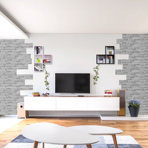 Brick Pattern Self Adhesive Wall Sticker
