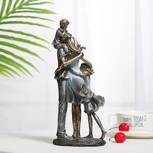 Handmade Family Sculpture