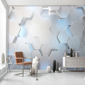 Mural Wallpaper 3D Geometry