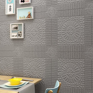Self Adhesive Waterproof 3D Brick Wall Stickers