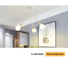 Load image into Gallery viewer, Modern Creative Curve Chandeliers