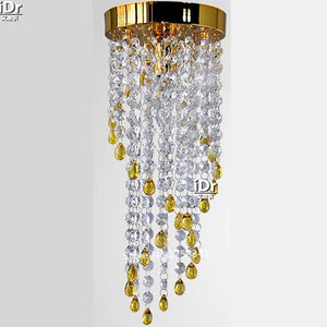 Crystal Gold Chandelier